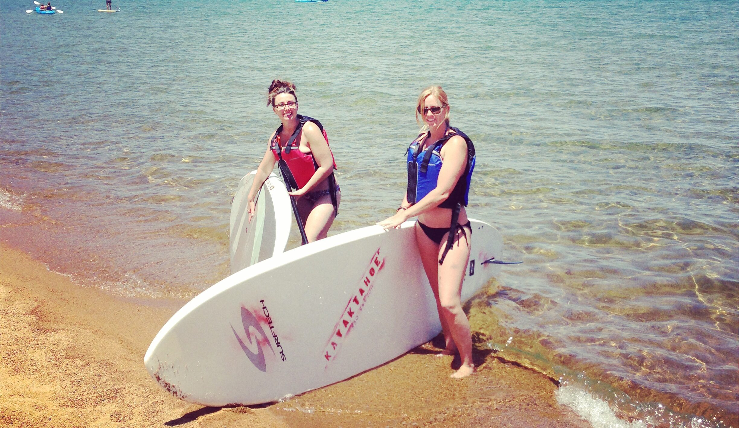 Stand Up Paddleboard rentals in Lake Tahoe