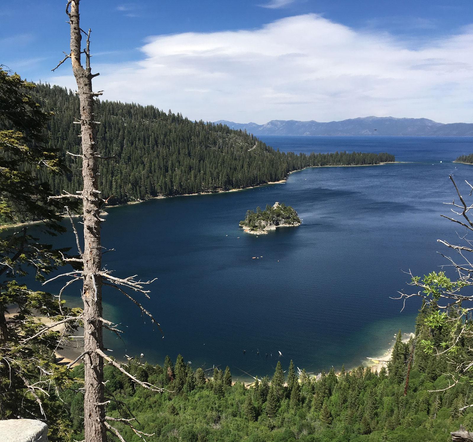 Emerald Bay Kayak Tahoe location