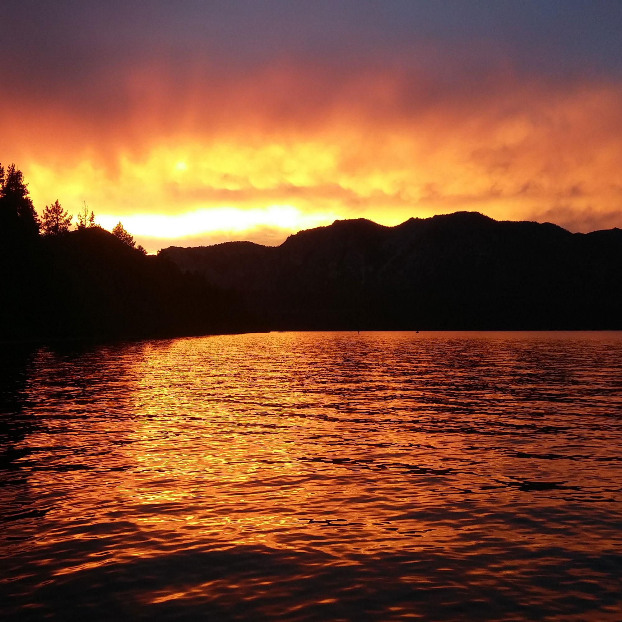 Tahoe Sunset kayak tours